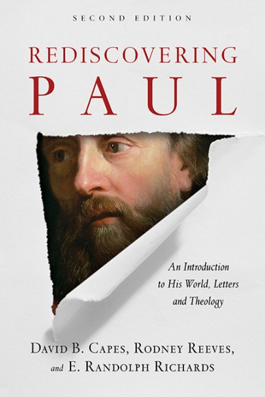 Book cover, 2d ed of Rediscovering Paul